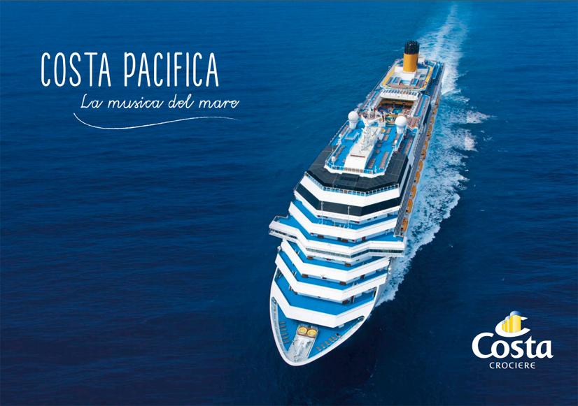 Costa crociere last minute ottobre 2016 for Costa pacifica ponti