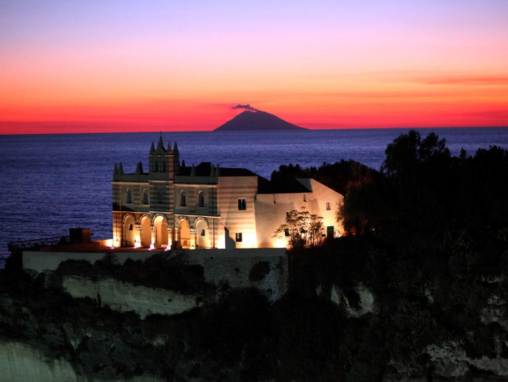 Cena Sotto L'Isola di Tropea
